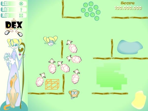 Sheepish – משחק פלאש